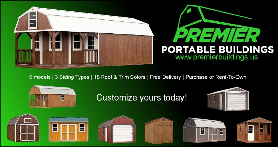 Large Selection of Sheds